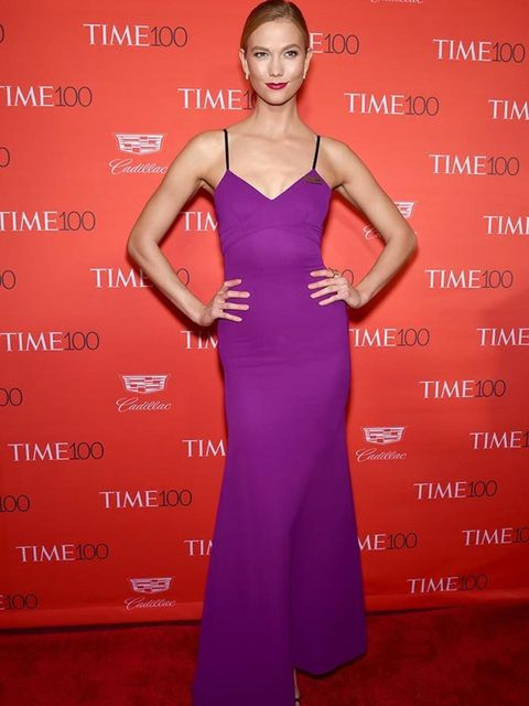<p>Karlie Kloss wearing Victoria Beckham at the 2016 Time 100 Most Influential People In The World Gala in New York, April 2016.</p>