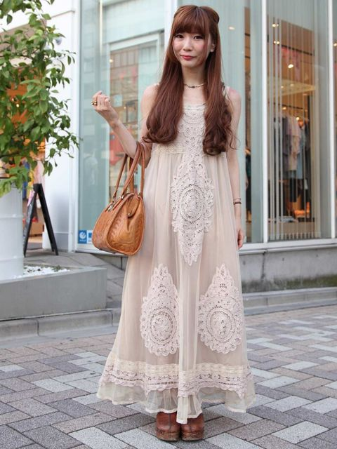 <p>Manami, 20, Office Worker. Mysty Woman dress.</p>