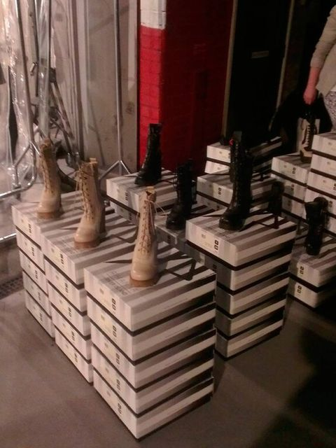 <p>Boots from the Rihanna for River Island collection.</p>