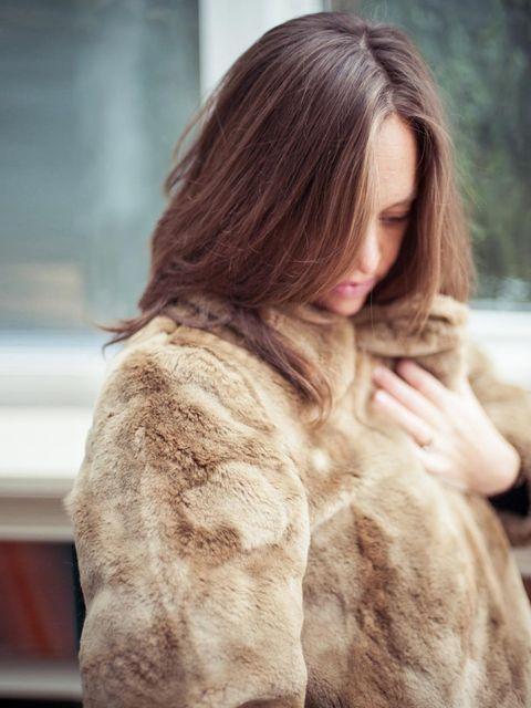 <p>Dries Van Noten coat.</p>