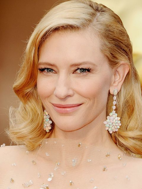 """<p><a href=""""http://www.elleuk.com/fashion/news/bafta-2014-winners-list-cate-blanchett-gravity-12-years-a-slave"""">Cate Blanchett</a></p><p>Committed to being cool and elegant at ALL TIMES, Cate pulled it off again with this <a href=""""http://www.elleuk.com/st"""