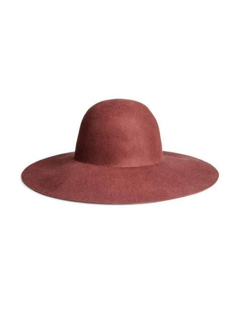 "<p>This 70s russet red will look great with tan and denim for spring.</p><p><a href=""http://www.hm.com/gb/product/18312?article=18312-C"">H&M</a> hat, £14.99</p>"