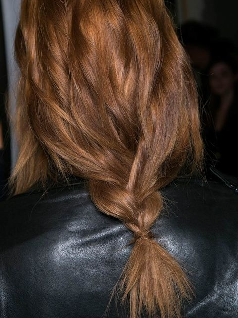 "<p>Hair Stylist: Luigi Murenu</p><p>Look: Wispy Plait</p><p>Inspiration: The strong identity of the Pucci woman with a chic bohemian feel.</p><p>Key Product: <a href=""http://www.lookfantastic.com/k-rastase-styling-mousse-bouffant-150ml/10802598.html?utm_s"