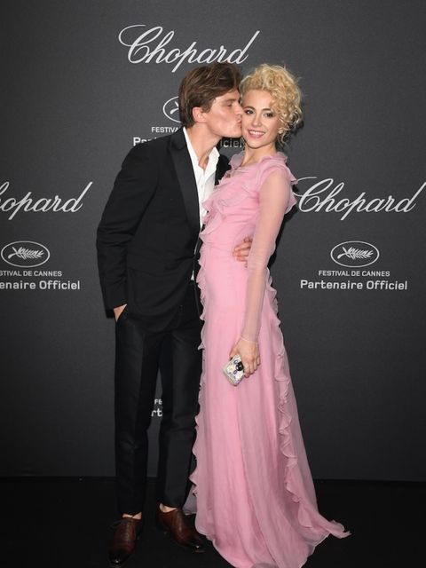 Pixie Lott and Oliver Chesire attends Chopard Wild Party as part of The 69th Annual Cannes Film Festival