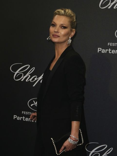 Kate Moss attends Chopard Wild Party as part of The 69th Annual Cannes Film Festival