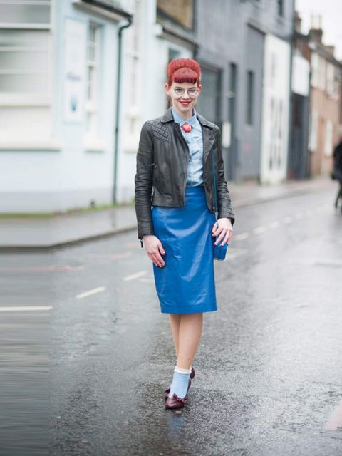 <p>Jenny Mearns, 28</p><p>Marks & Spencer skirt</p>