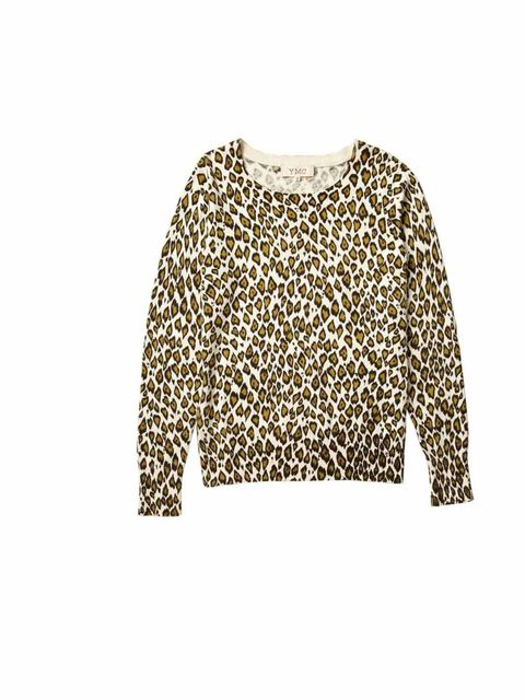 "<p>Teamed with boyfriend jeans or statement mini, this YMC sweater is an instant hit of color and print to your new season wardrobe... <a href=""http://www.youmustcreate.com/products/new-in-womens/leopard-knit/"">YMC</a> leopard print sweater, £145</p>"