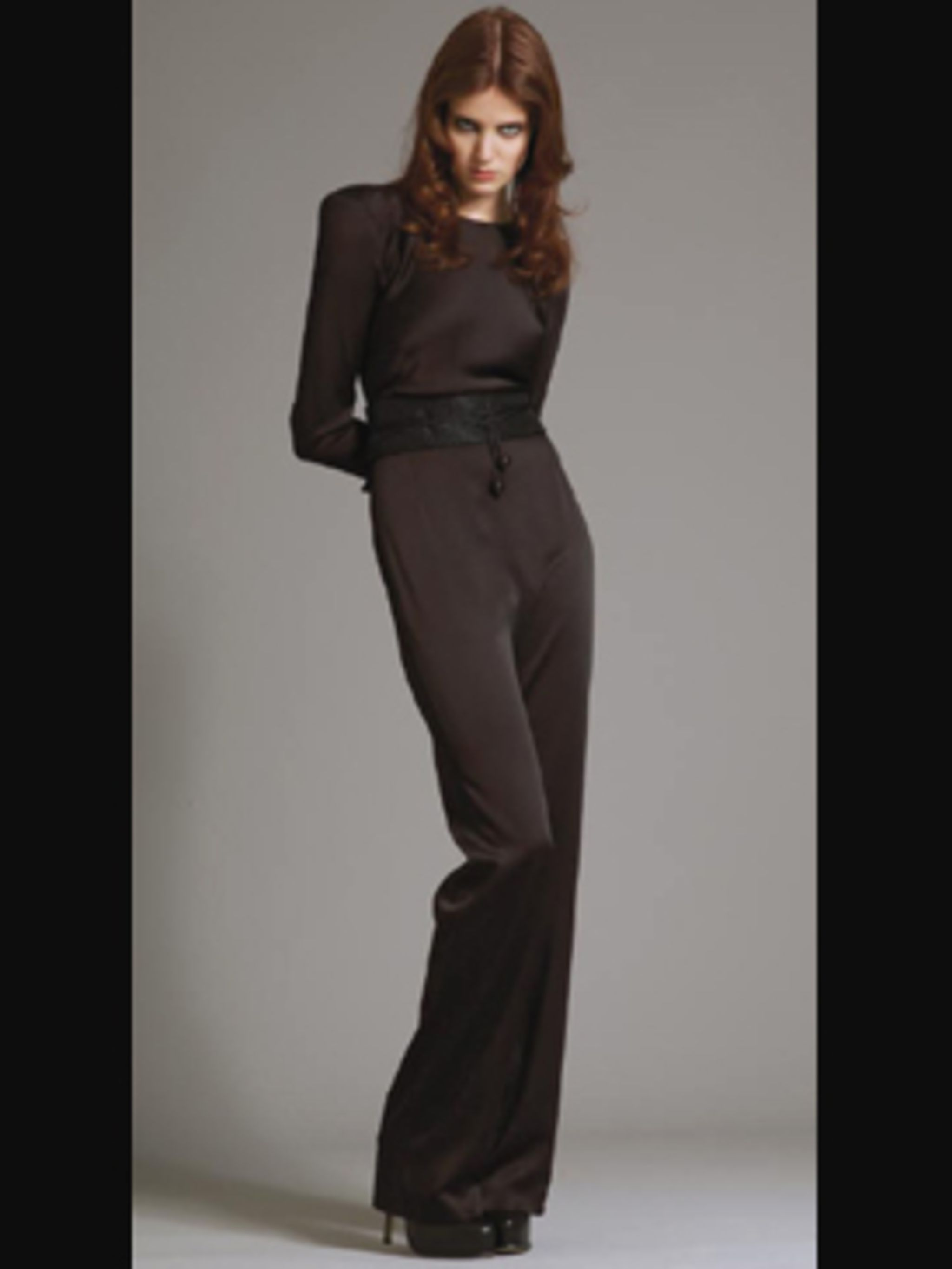 <p>Modern and easy to wear this jumpsuit is a next season must-buy</p>