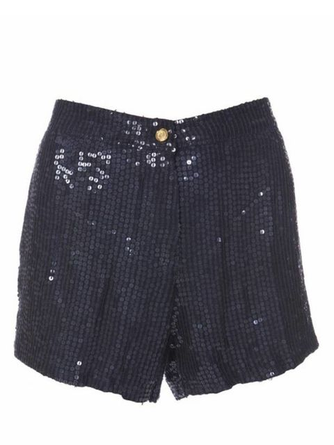 <p>Sequin shorts, £35, by Topshop (0845 121 4519)</p>