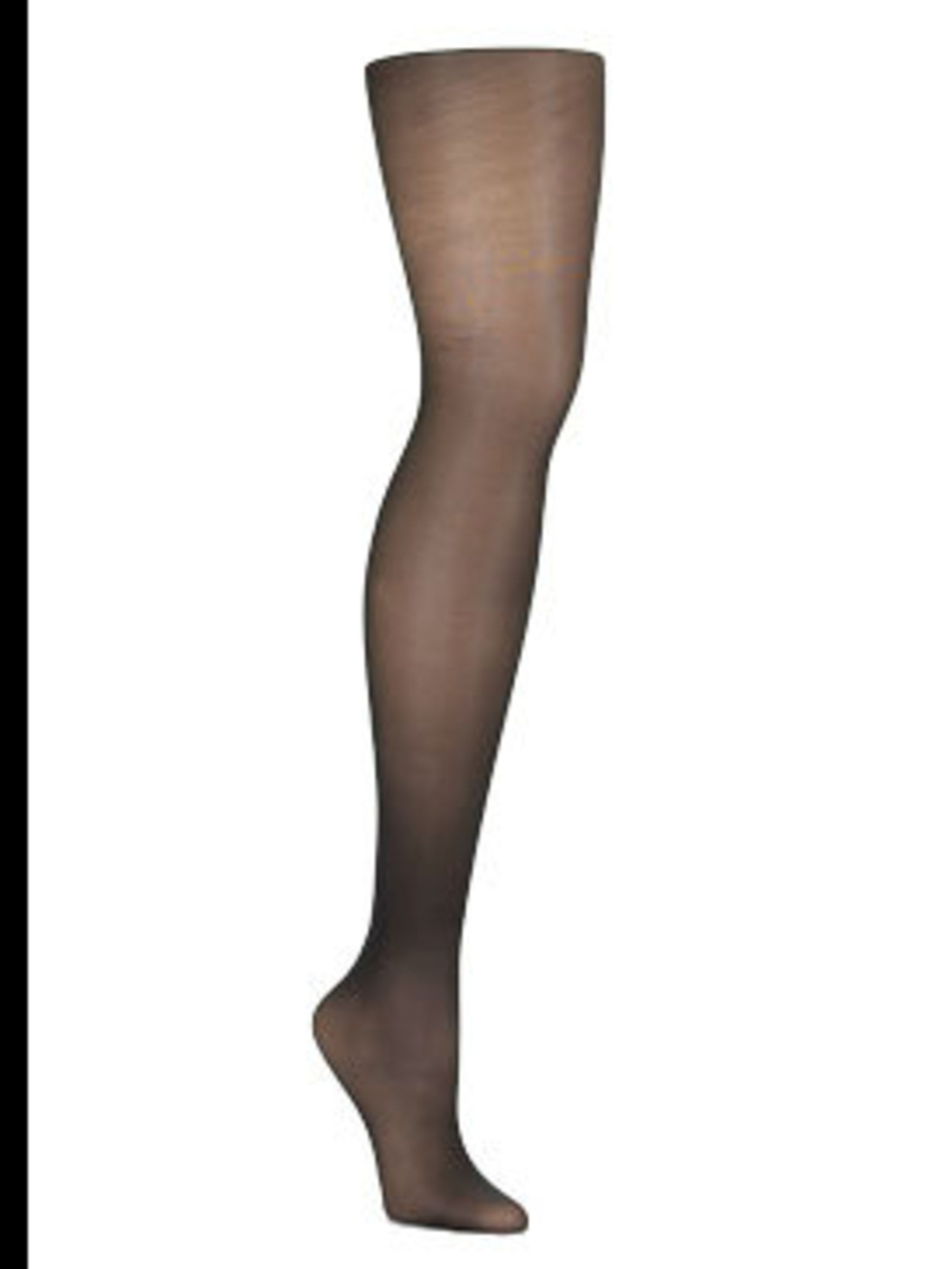 """<p>Black sheer tights, £20, by <a href=""""http://www.wolford-partnerboutique-w1-london.com/item.asp?pid=172"""">Wolford</a></p>"""