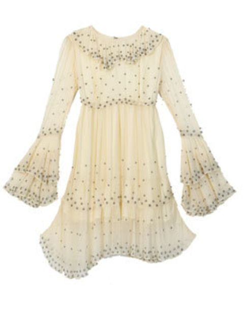 <p>Cream dress, £95, by Christopher Kane for Topshop (0845 121 4519)</p>