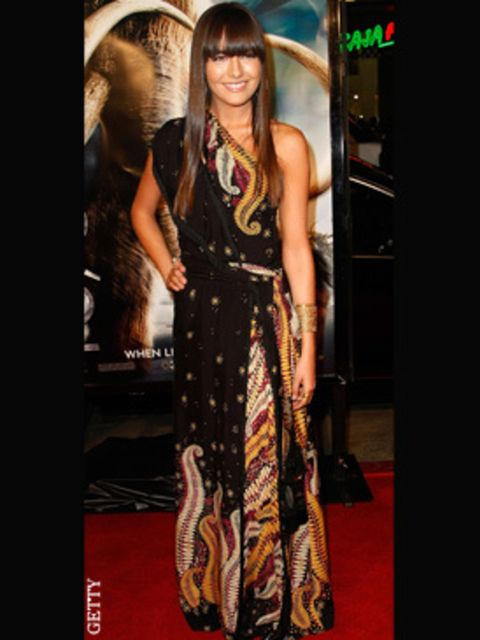 <p>Next season's Gucci is going to sell out fast, lucky Camilla has scooped a key piece straight off the runway.</p>
