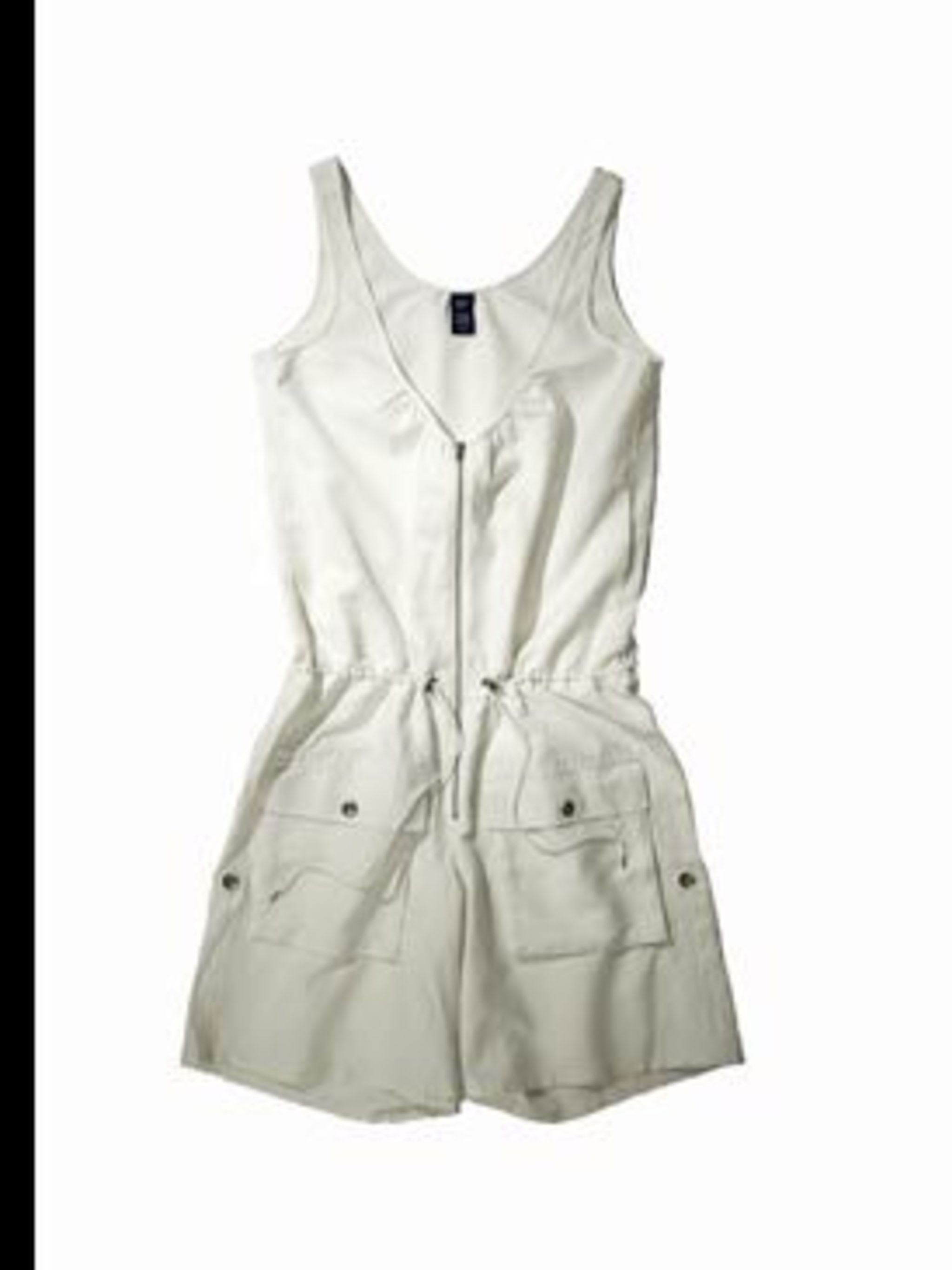 <p>Cargo-pocket jumpsuit, £35, by GAP. For stockist details call 0800 427 789</p>