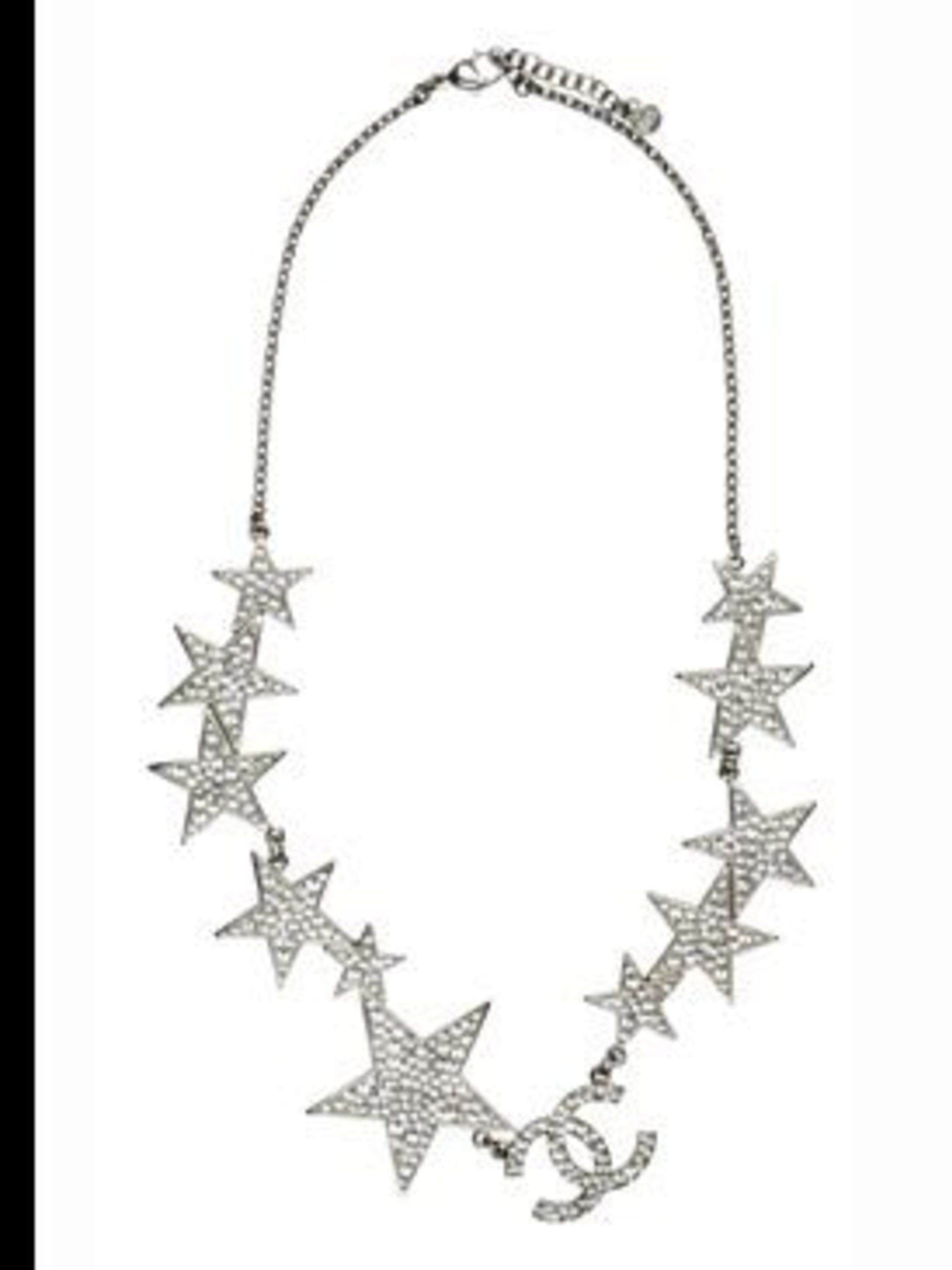 <p>Star necklace, £810, by Chanel. For stockist details call 0207 493 5040</p>