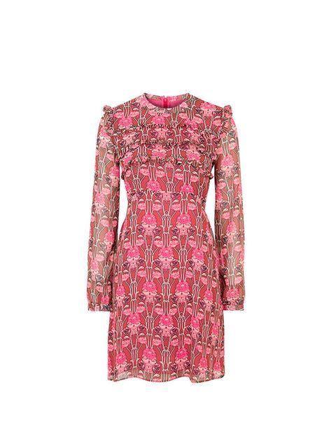 "<p><a href=""http://www.topshop.com/en/tsuk/product/clothing-427/dresses-442/floral-print-ruffle-dress-4506186?bi=1&ps=20"" target=""_blank"">Topshop </a>dress, £48</p>"