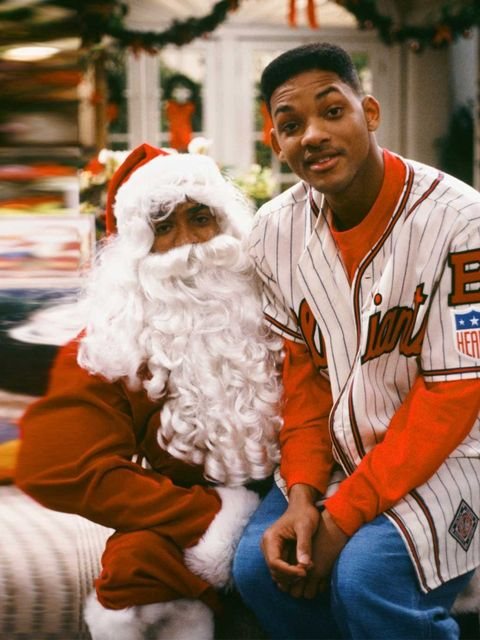 <p>Has the Fresh Prince been naughty or nice?</p>
