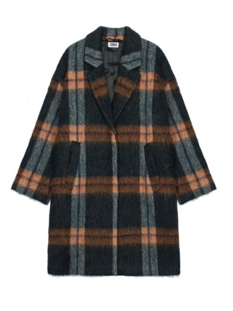 "<p><a href=""http://www.soniarykiel.com/en_uk/manteau-tartan-mohair-135407.html"" target=""_blank"">Sonia by Sonia Rykiel</a> coat, £480</p>"