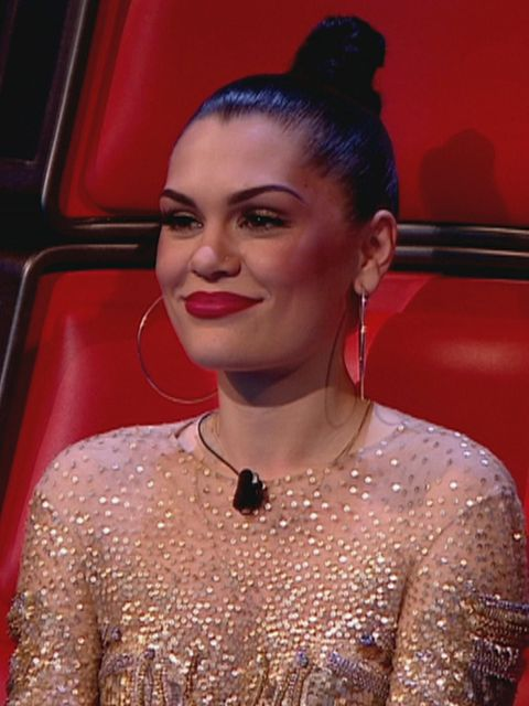 <p>Jessie J on The Voice this Sunday</p>