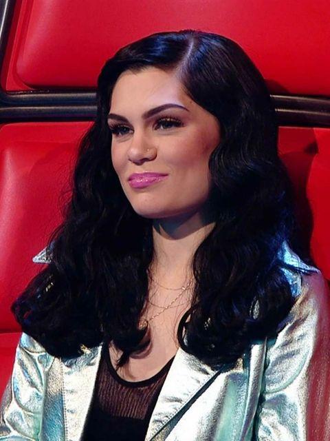 <p>Jessie J on The Voice Sunday night</p>