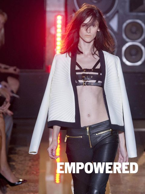 <p>EMPOWERED: Ready to take a brave new shift in gear? When all the big designers gang up with one thing in mind – empowering women – it's time to take note. Miuccia Prada, Phoebe Philo et al were on a mission to inspire us into clothes that make bold sta