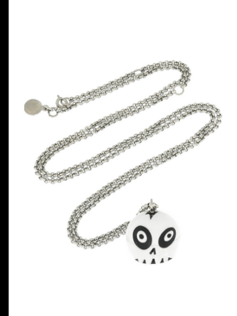 """<p> Skull Pendant Watch, £125 by Marc by Marc Jacobs at <a href=""""http://www.net-a-porter.com/product/39654"""">Net-a-Porter</a></p>"""