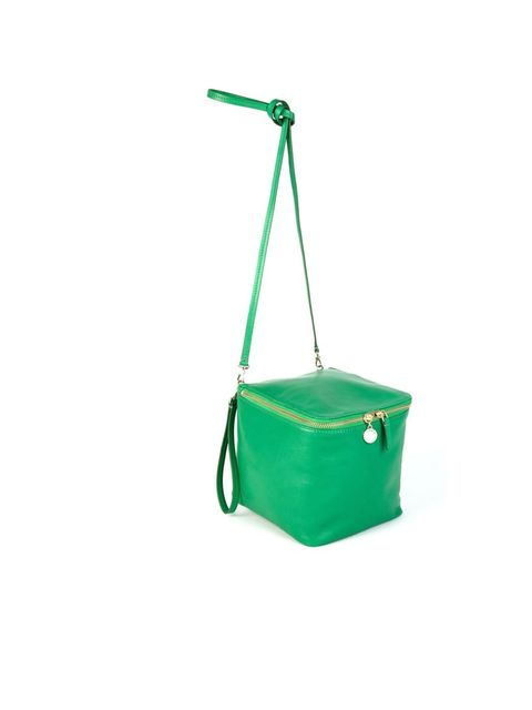 <p>Marc by Marc Jacobs block party 'New Kid on the block' bag in fresh grass, £160, for stockists call 0207 408 7050</p>