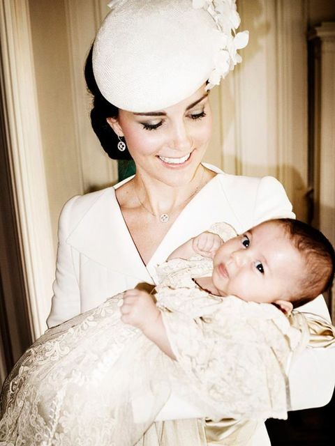 Kate and Charlotte in an official portrait by Mario Testino.