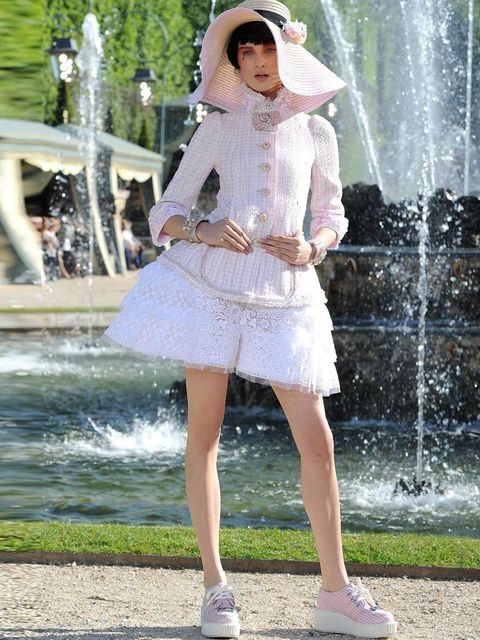 <p>Look 16, Chanel Cruise 2013</p>