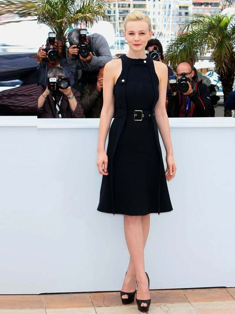 "<p><a href=""http://www.elleuk.com/star-style/celebrity-style-files/carey-mulligan-s-style-file"">Carey Mulligan</a> wearing Chloe at the 'Inside Llewyn Davis' film photocall, 66th Cannes Film Festival, France, May 2013.</p>"
