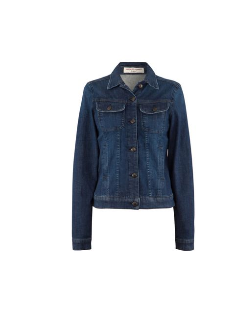 "<p>Worn with leather trousers or a tea dress, this smart and versatile denim jacket is your nuber one buy of the week... <a href=""http://www.comptoirdescotonniers.co.uk/eng/Home_EN.aspx"">Comtpoir des Cotonniers</a> denim jacket, £125</p>"