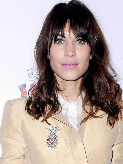 "<p><strong><a href=""http://www.elleuk.com/star-style/celebrity-style-files/alexa-chung-s-style-file"">Alexa Chung</a></strong></p><p>Alexa's stepped away from her staple red lip and opted for a chalkie, pastel pink shade that's pretty and feminine but also"