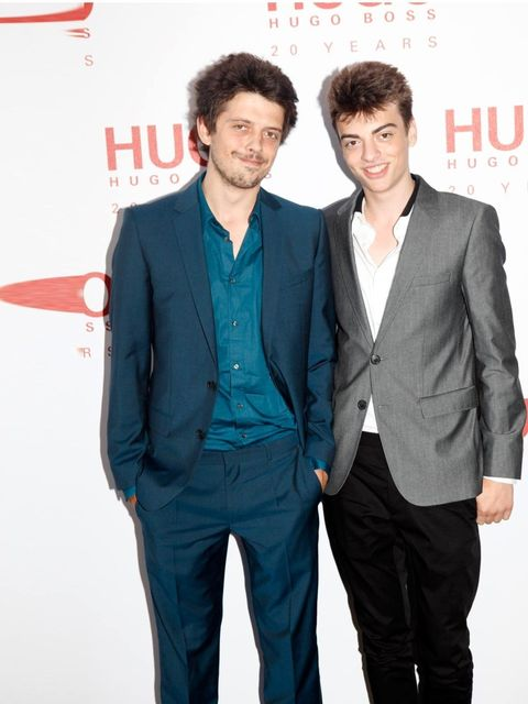 <p>The Bailey boys, Fenton and Sascha, both in HUGO.</p>