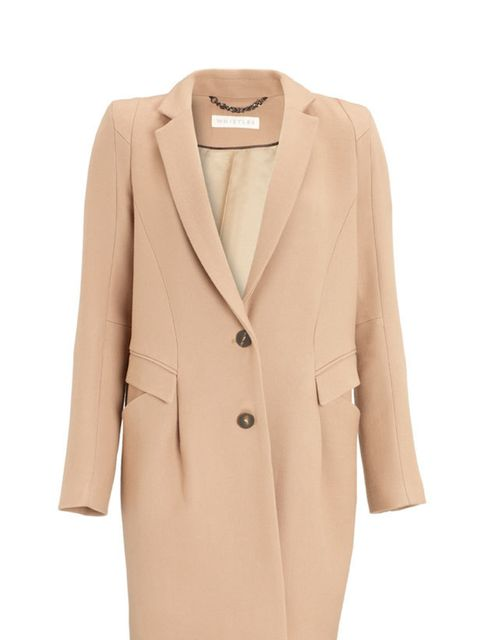 <p>This season is all about the statement coat and this beautiful nude number from Whistles is worth investing in now – get it before it sells out. Whistles nude coat, £225, for stockists call 0845 899 1222 </p>