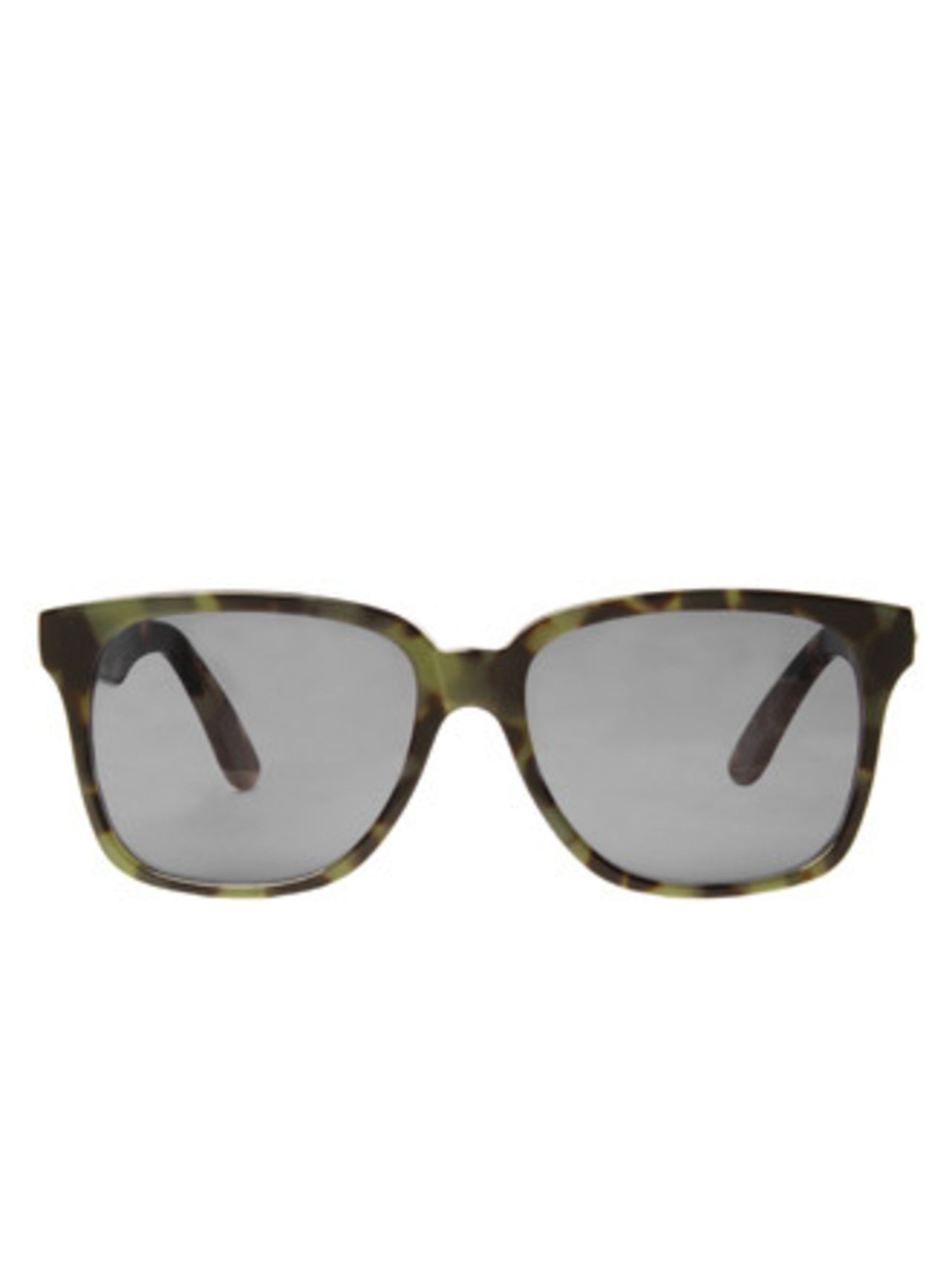 "<p>Kurt Geiger has been tempting us with shoes, boots and sandals since 1963. Now they have branched out into sunglasses. We can't resist this green and brown tortoiseshell pair.</p><p>Sunglasses, £160 by <a href=""http://www.kurtgeiger.com/online-shop/167"