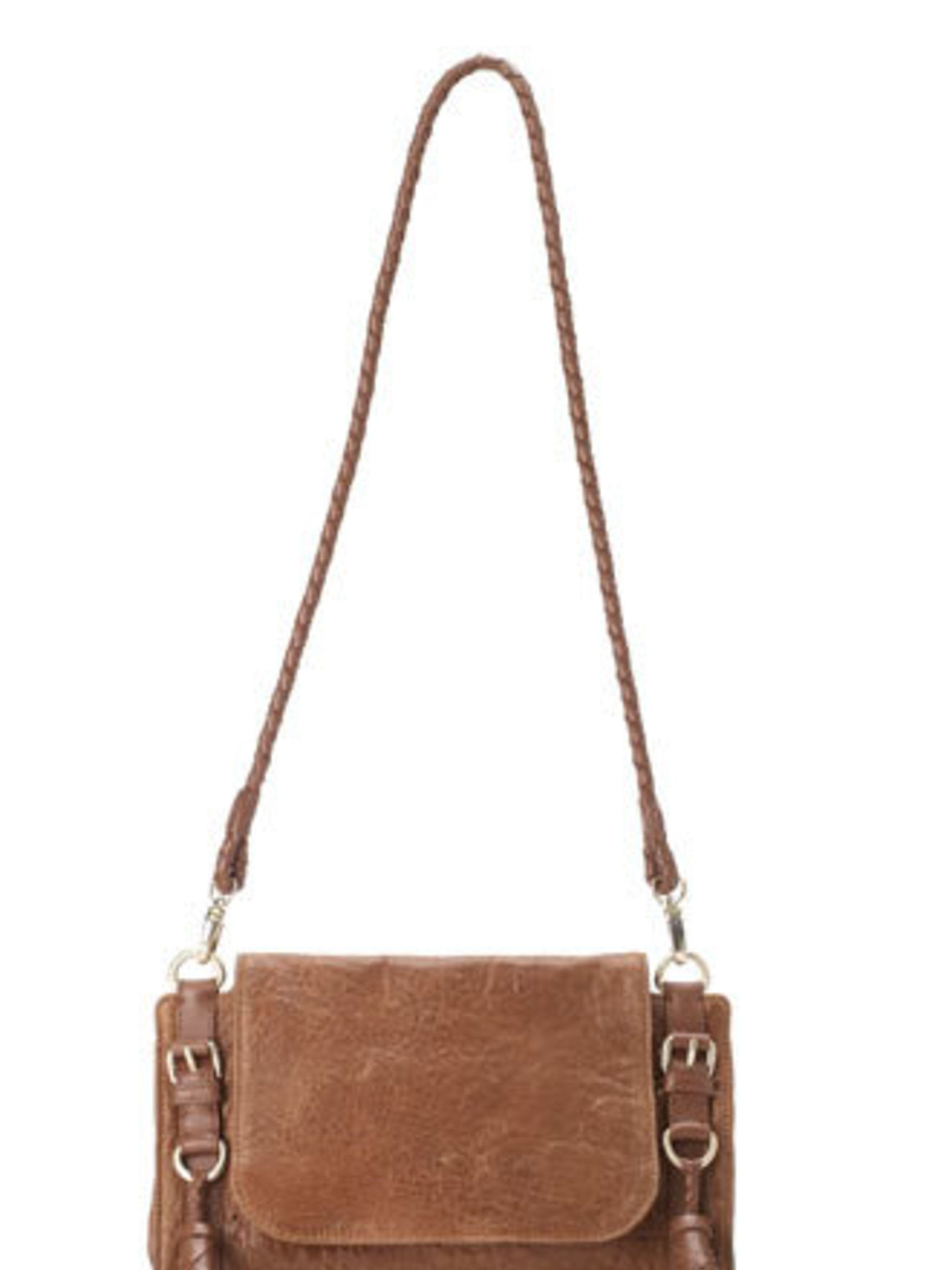 """<p>A tan satchel is firmly on team ELLE's wishlist right now. Why? Because they fit in to our favourite sports luxe trend and we know we'll still be wearing them for seasons to come.</p><p>Leather bag, £120 by <a href=""""http://www.whistles.co.uk/"""">Whistles"""