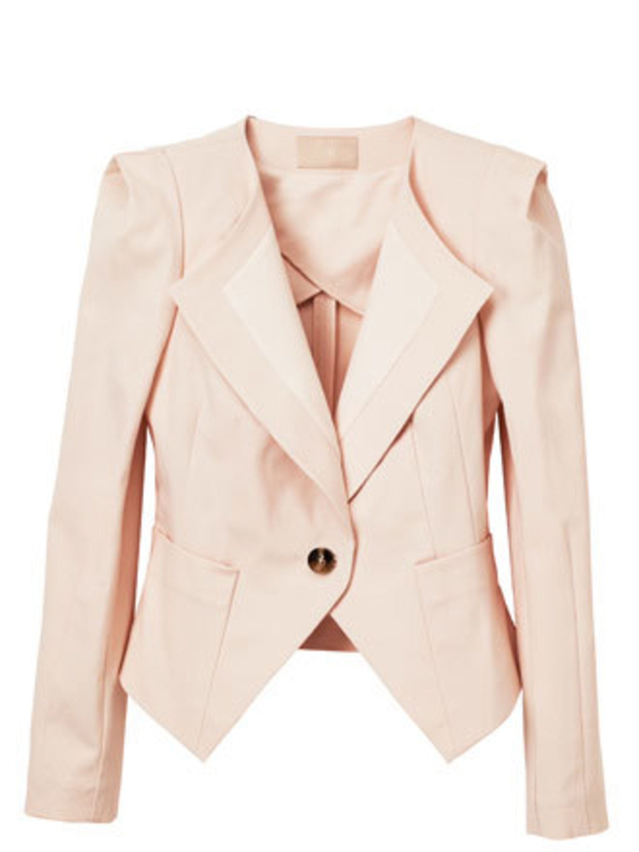 """<p>Summers aren't just about beach holidays and afternoons in the park - you need to kit your office wardrobe out too. This pastel jacket will liven up your staples but still ticks the 'office appropriate' box. </p><p>Jacket, £34.99 by <a href=""""http://www"""