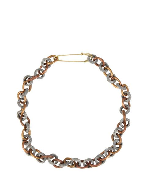 <p> </p><p>We instantly fell for JW Anderson's Spring/Summer 2011 collection at London Fashion Week, and thanks to Liberty's exclusive access to the collection, you can get your hands on the pieces like this ceramic link necklace a whole season ahead! J.W