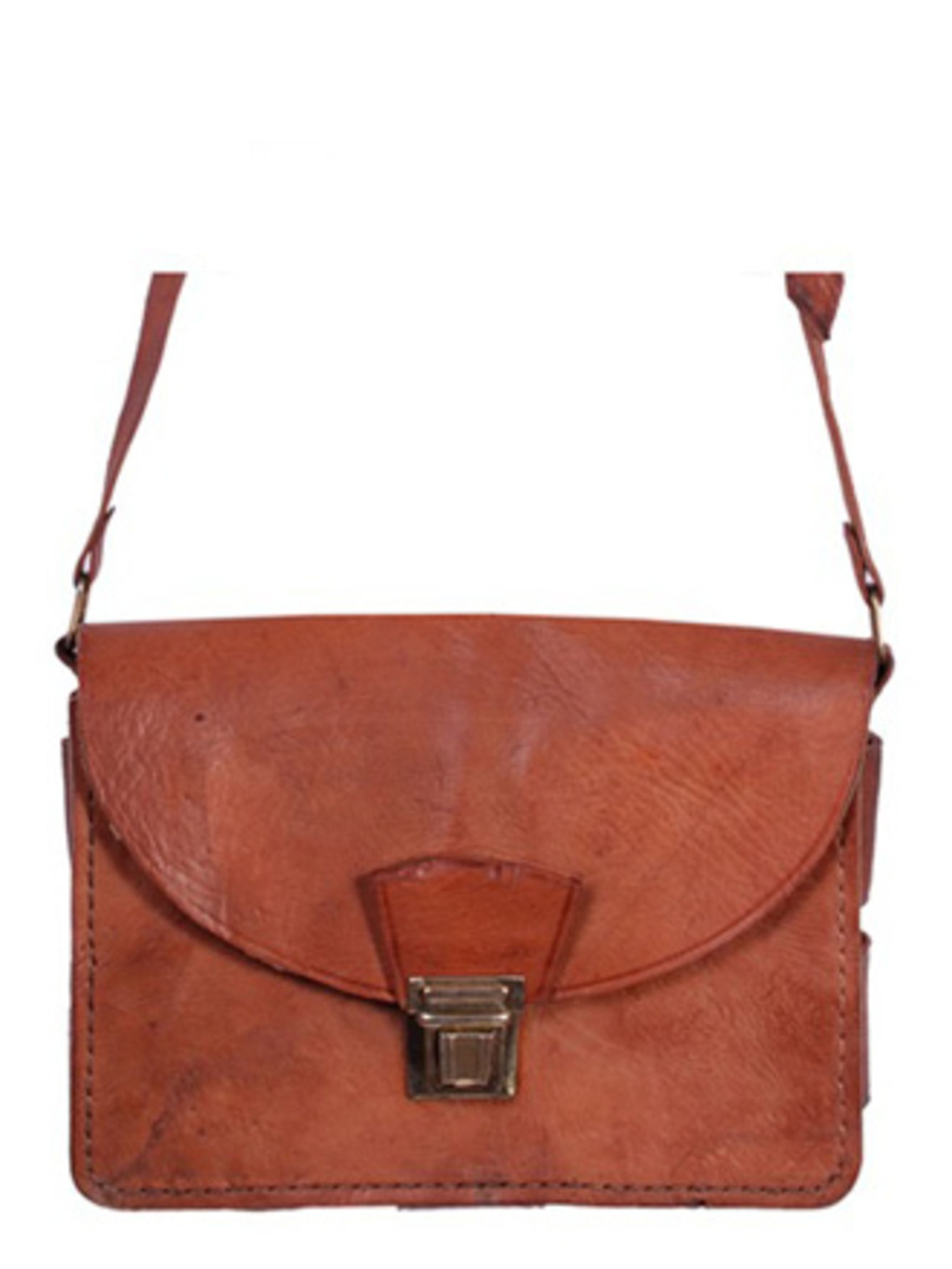 "<p>Satchels are the bag of the summer. We spotted this leather version on PretaPortobello.com for a jaw-dropping £24 price tag.</p><p>Satchel, £24 by LILA at <a href=""http://www.pretaportobello.com/shop/shoes-and-accessories/bags/lila-large-leather-satche"