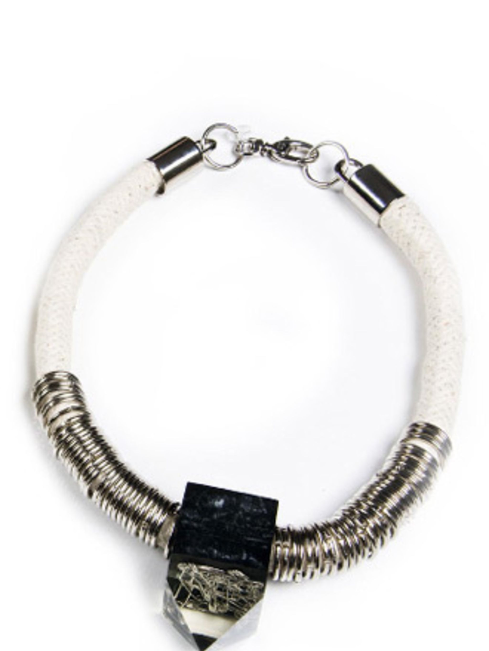 "<p>Choker, £108 by Sou Brette at The trend for statement necklaces shows no sign of waning, especially come summer when they bring a plain t-shirt to life. Kabiri's metal and rope detail choker is a firm favourite.  <a href=""http://www.kabiri.co.uk/new-in"