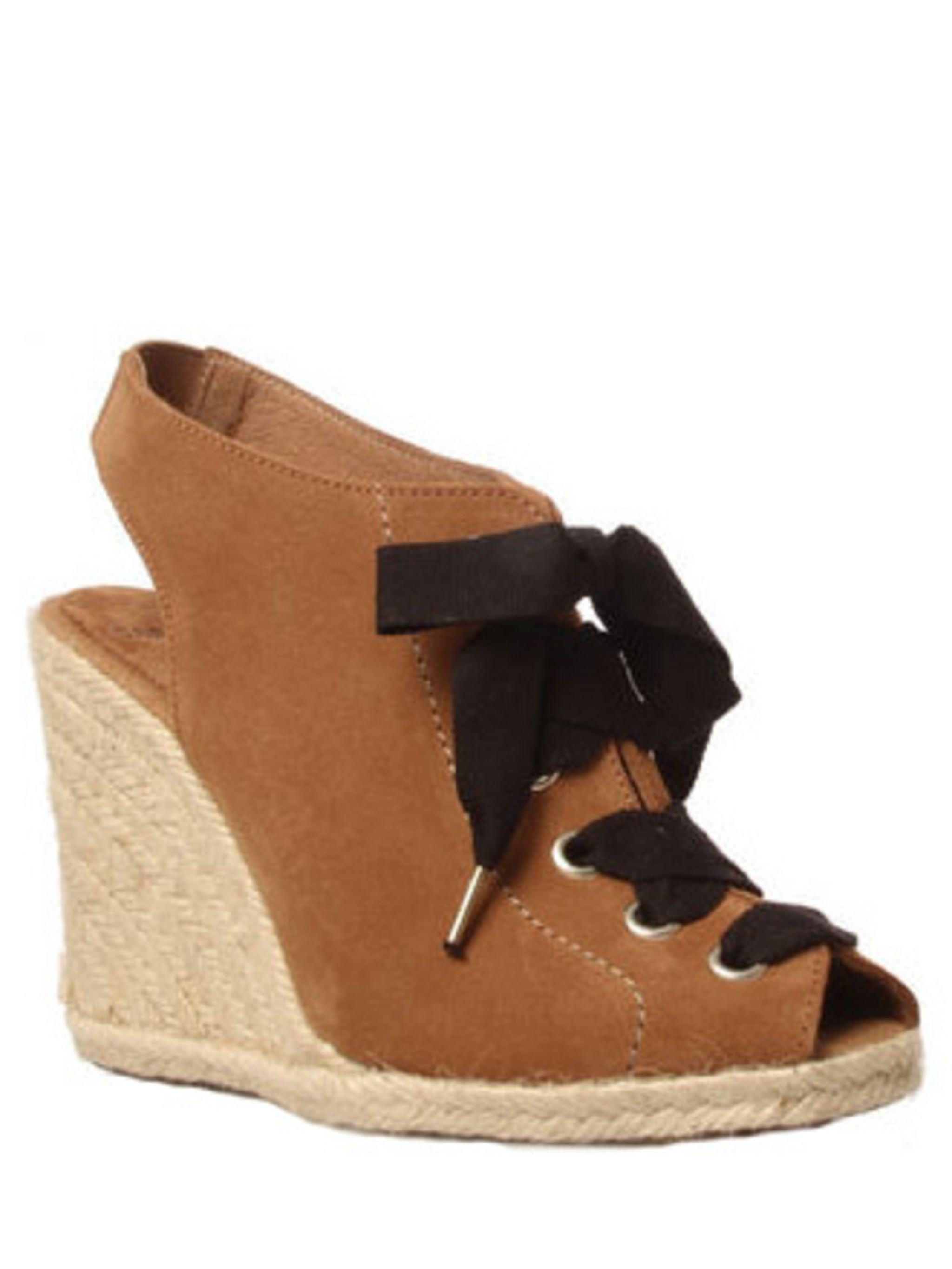 <p>These wedges will look perfect paired with the J.Crew shirt at weekends but are smart enough for the office too. </p><p>Wedges, £95 by Carvela</p>