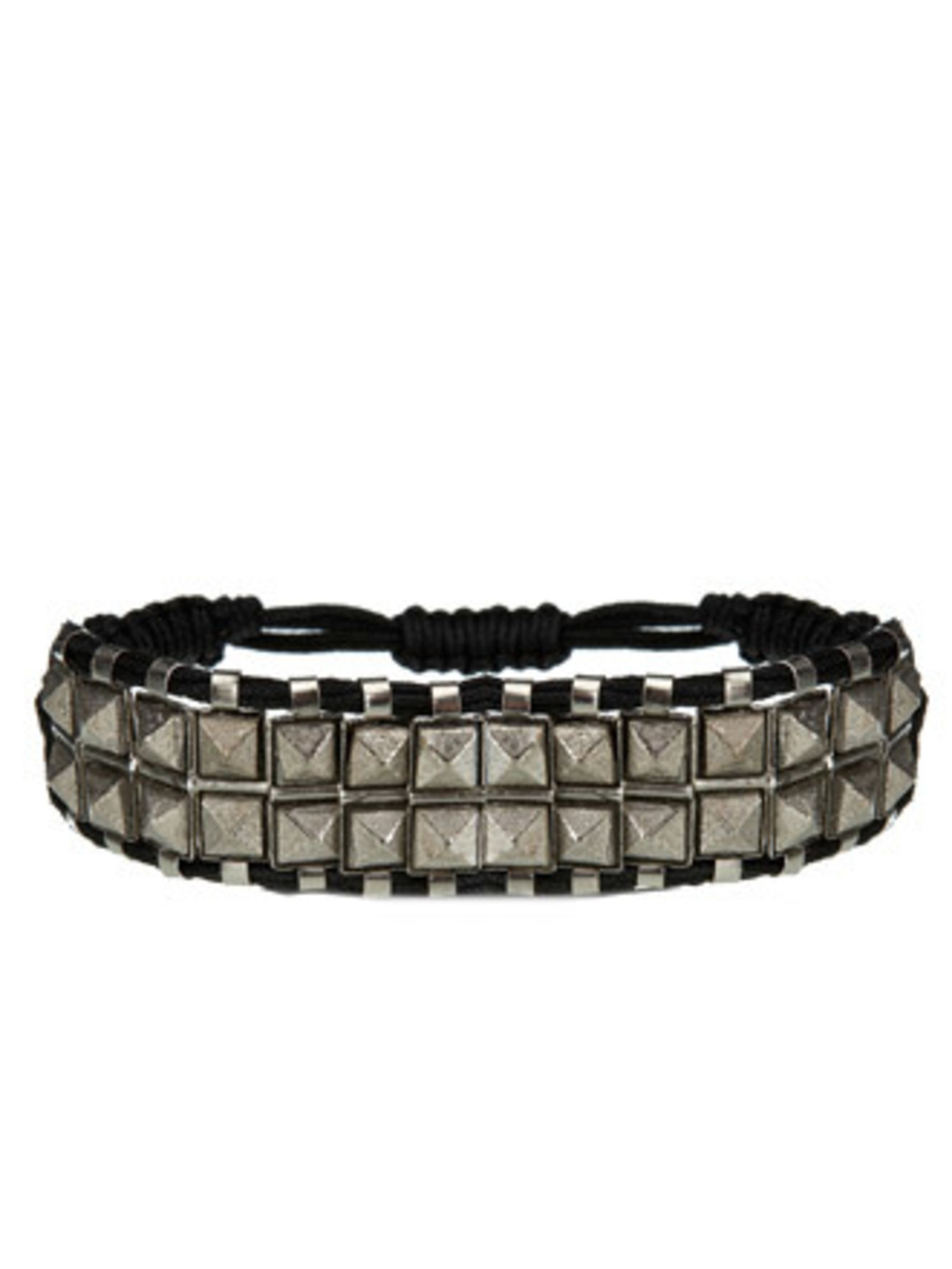 """<p>This studded bracelet will add much needed edge to summer florals and will look great paired with dark teal nails (the a/w shade) come winter.Bracelet, £70 by Shashi at <a href=""""http://www.bunnyhug.co.uk/fashionshop/gbu0-prodshow/Shashi_Rocker_Stud_Bra"""