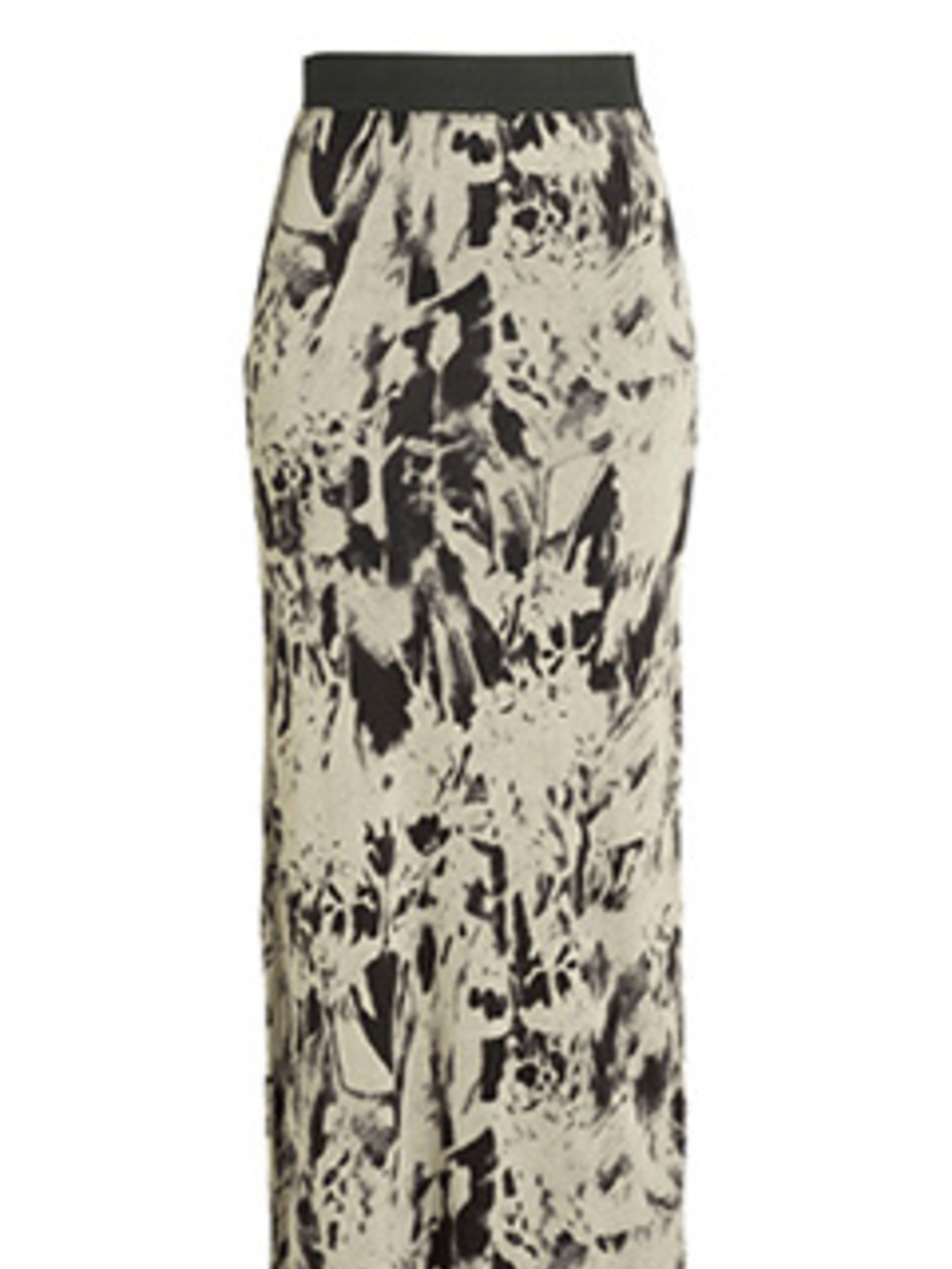 "<p>Take note, hemlines are riding low for summer. Channel the 90s with a simple tee, denim jacket and this maxi skirt. </p><p>Skirt, £24.99 by <a href=""http://xml.riverisland.com/flash/content.php"">River Island</a></p>"