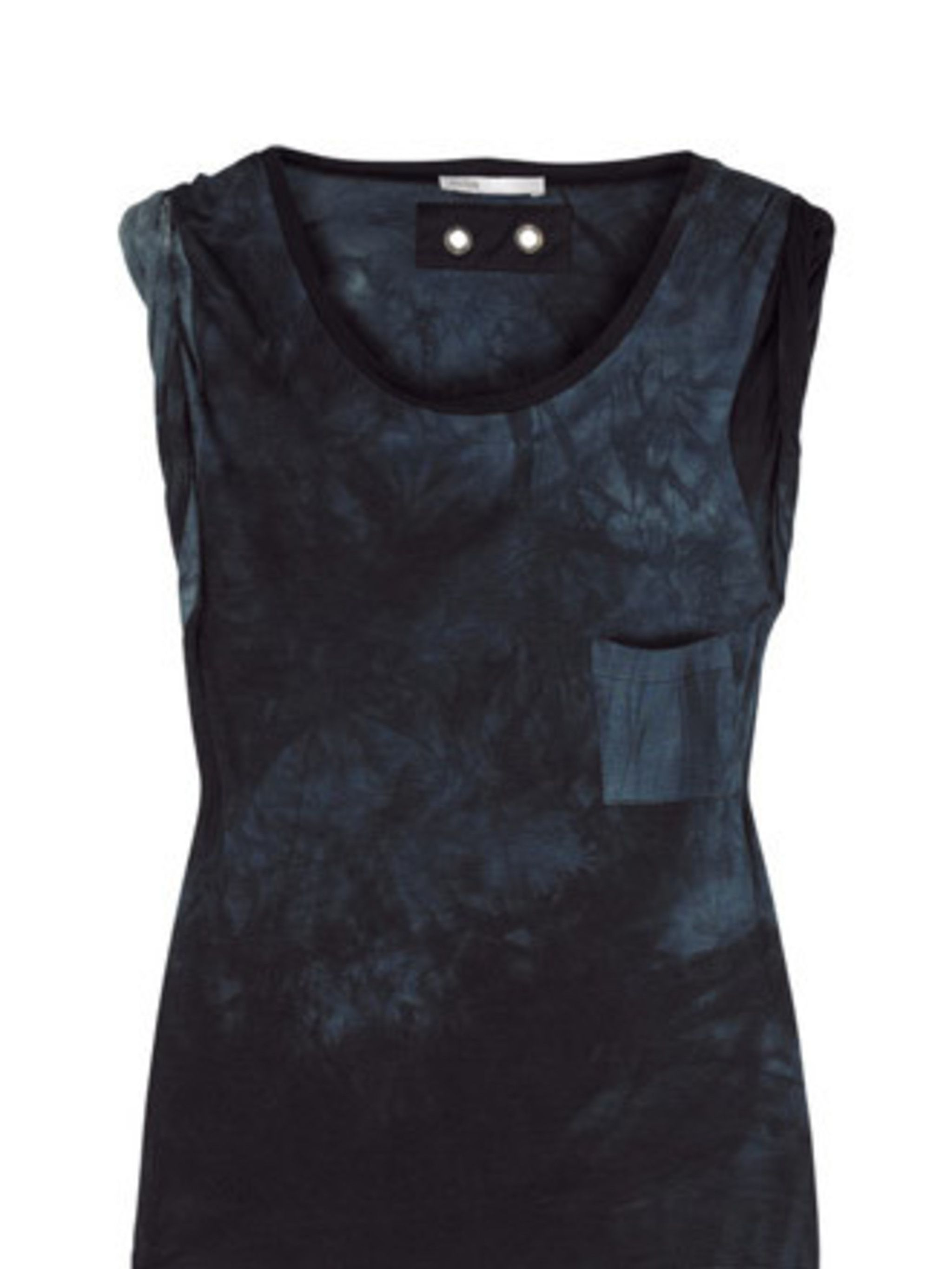 """<p>Summer isn't all about soft pastels and pretty florals, you know. Sometimes you want something a bit more edgy. This tie-dye tank from Maje will look tough paired with skinny jeans, killer heels and sunnies.</p><p>T-Shirt, £78 by Maje at <a href=""""http:"""