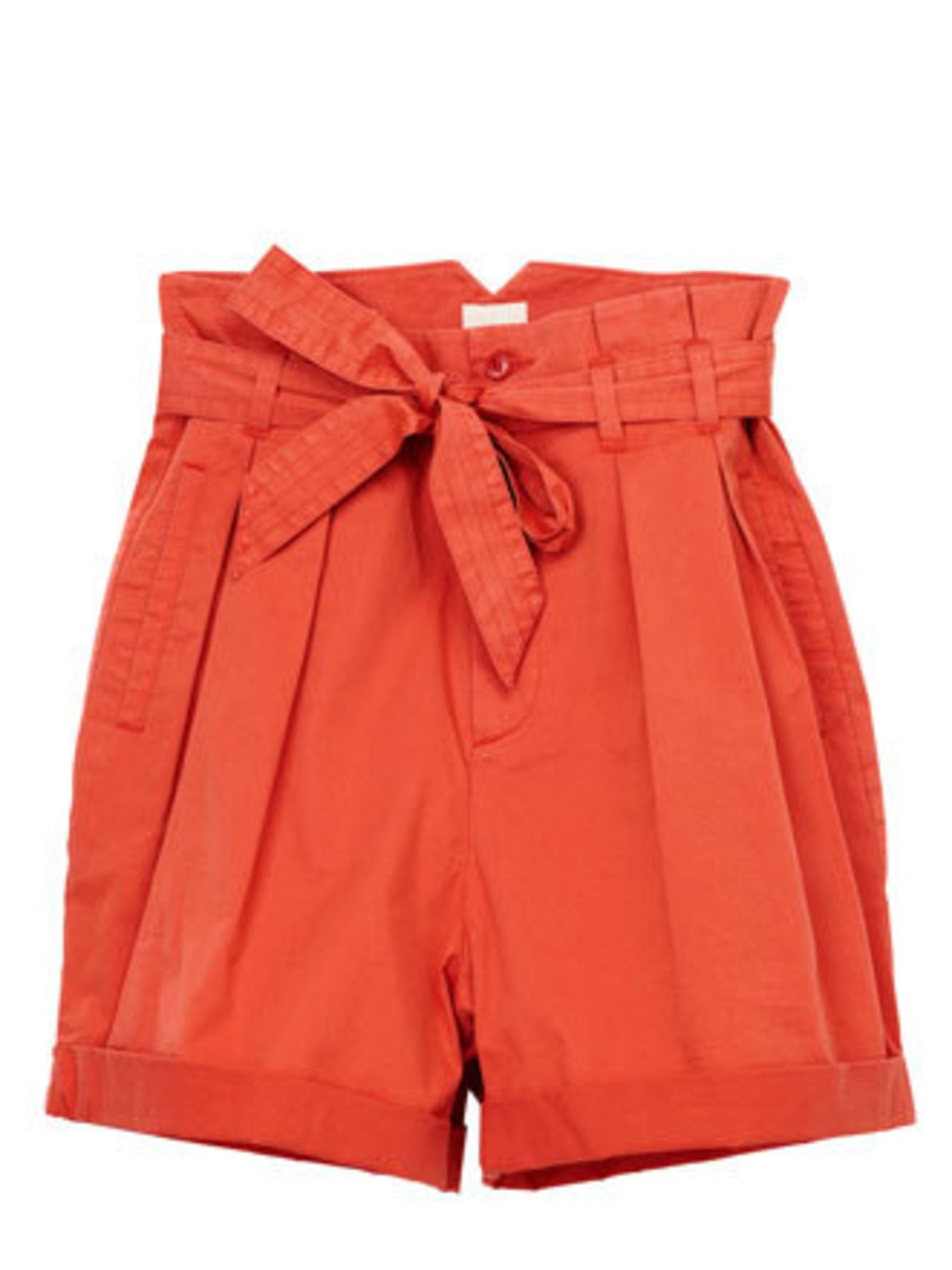 """<p>The time has come to embrace shorts. This bright pair from H&M are super flattering – not too tight or too short. Dress them up with a blazer or down with a simple vest. Oh and if your legs aren't quite summer ready, <a href=""""http://blogs.elleuk.co"""
