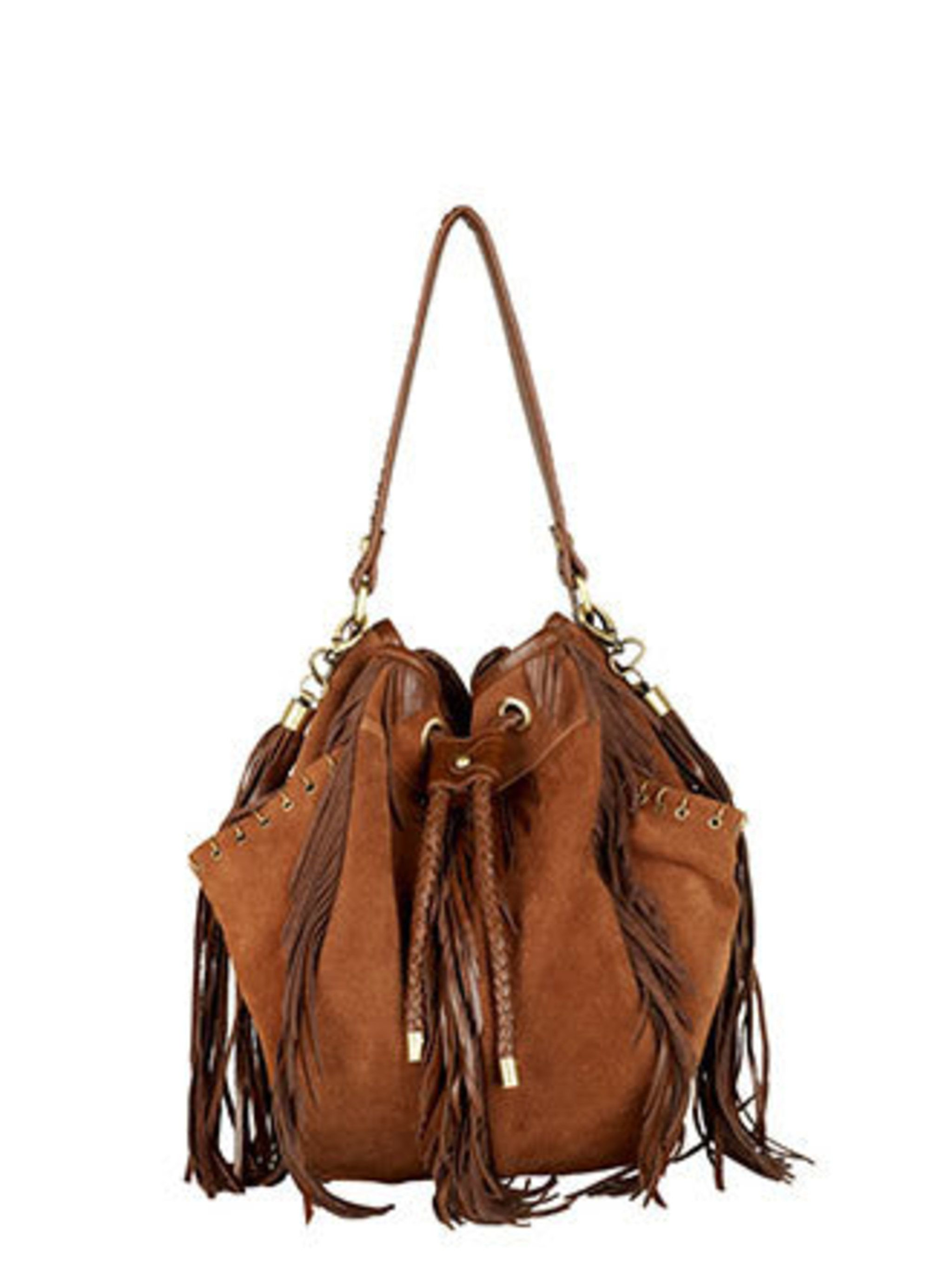 """<p>This bag works in so many different ways. It will look fab with a floral dress and wellies at festivals, you could use it as a (very nice) beach bag and it is smart enough – just – to wear to the office.</p><p>Bag, £79.99 by <a href=""""http://xml.riveris"""