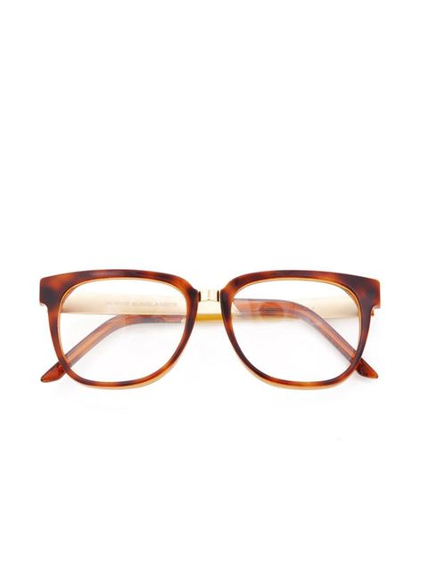 """<p>These glasses can be worn at anytime of the year and will add a quirky yet cool edge to your working wardrobe. Super tortoisheshell glasses, £134, at <a href=""""http://goodhoodstore.com/?page=51&id=1281&type=womens"""">Goodhood</a> </p>"""