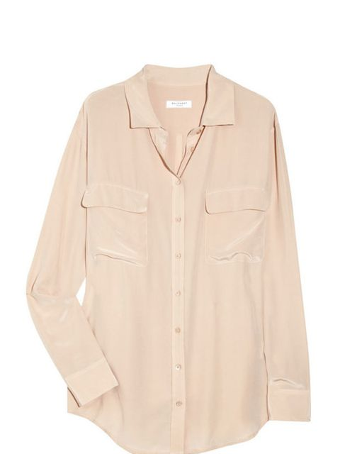 "<p>This season heralds the long-awaited return of 1970s shirt label, Equipment. This timeless, luxe silk blouse will add a sexy, androgynous edge to your wardrobe. Equipment silk pocket shirt, £145, at <a href=""http://www.net-a-porter.com/intl/product/101"