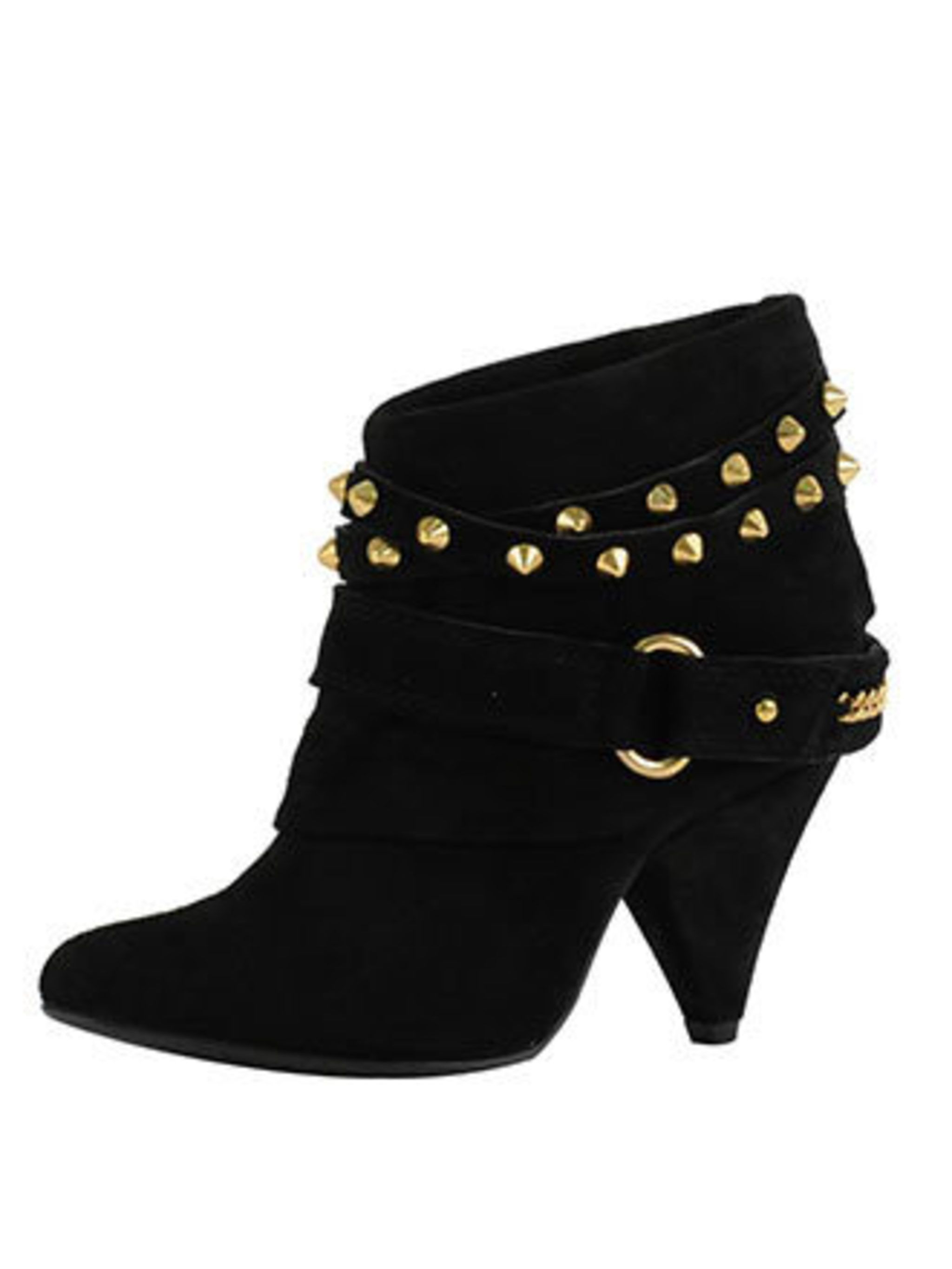 "<p>Cowgirl meets rock chick, the ELLE team love these boots. They will add edge to everything and aren't too high that you'll go skidding if it snows again. (Please, let it snow!)</p><p>Boots, £69.99 by <a href=""http://xml.riverisland.com/flash/content.ph"