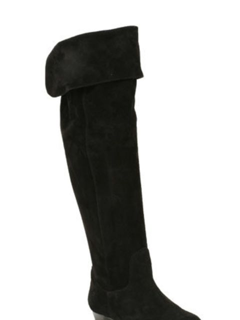 "<p>Cover your tracks with these over-the-knee boots. If the OTK trend ends up in the fashion graveyard, this Clark's pair - with its ingenious turn-over, could pass as knee-highs in a flash.</p><p>Boots, £99.99 by <a href=""http://www.clarks.co.uk/find/New"