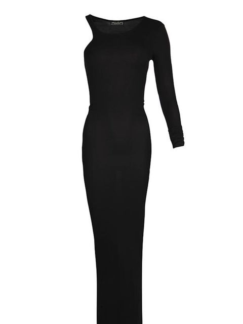 "<p> </p><p>The maxi dress is now a certified wardrobe staple and thanks to this Alexander Wang inspired version from All Saints, we're about to add another to our collection... <a href=""http://www.allsaints.com/women/new/axle-asymetric-maxi-dress/black/wd"